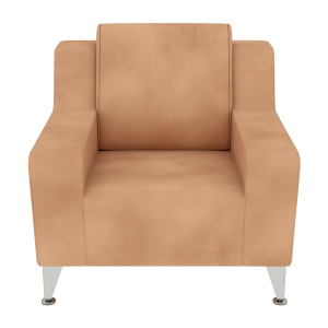 Low Arm Club Social Chair