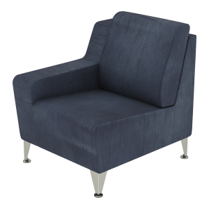 Low Arm Right Social Chair